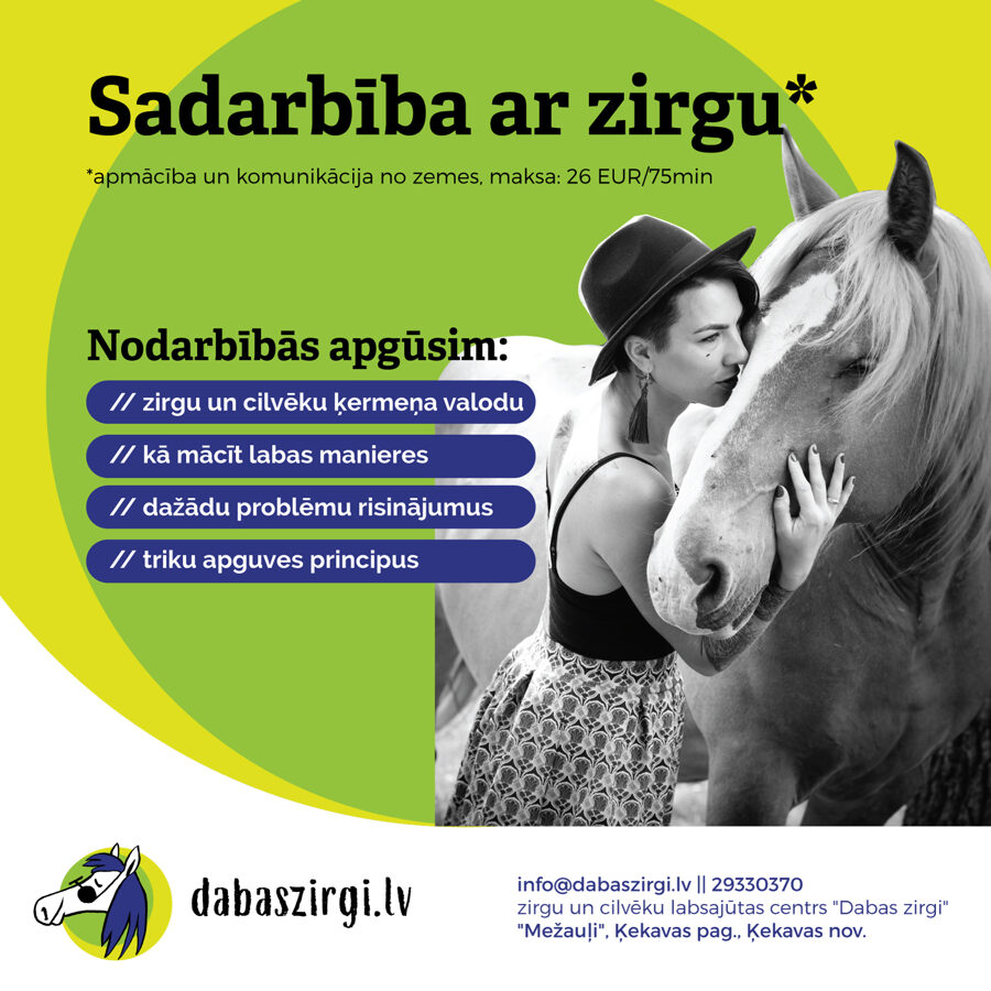 Sarunas ar zirgiem (zirgu psiholoģija)